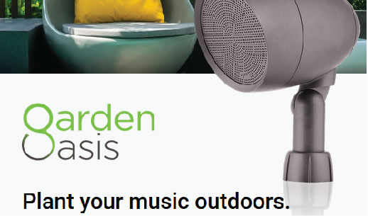 Paradigm Garden Oasis Speaker - Plant your music outdoors