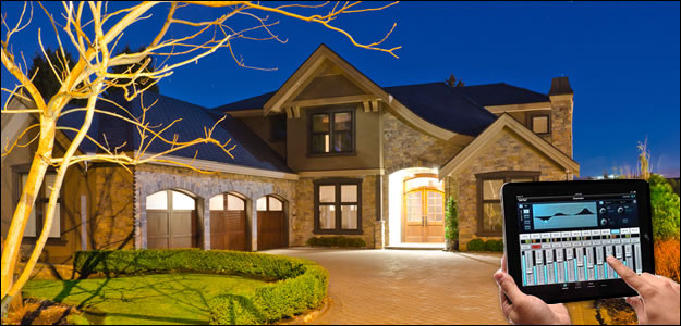 enveloping sound services home automation control systems